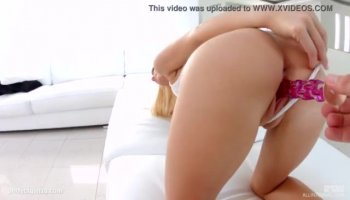 Zoey Monroe deepthroating and gagging on his massive member