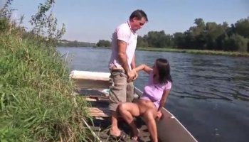 Nailing girl doggystyle sets studs weenie on fire